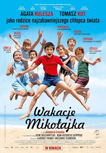 Polski plakat filmu 'Wakacje Mikołajka'