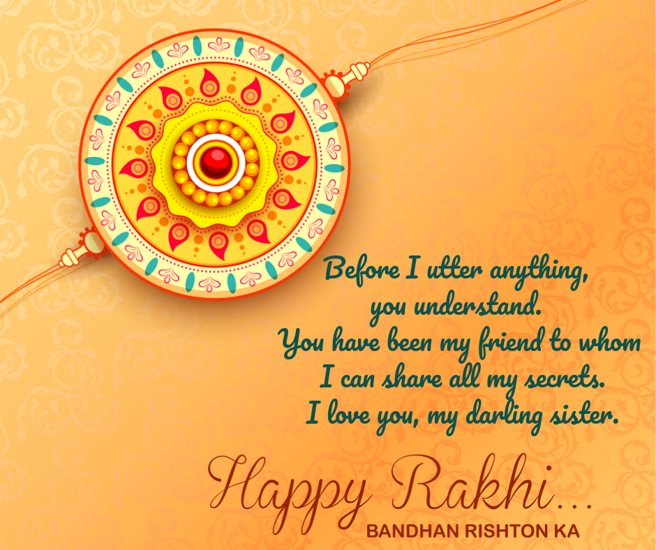 raksha bandhan status in english