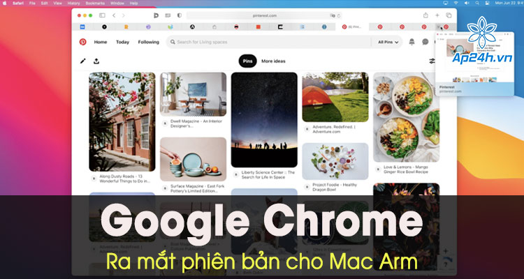 Trinh duyet Google Chrome cho Mac chay chip M1 chinh thuc ra mat