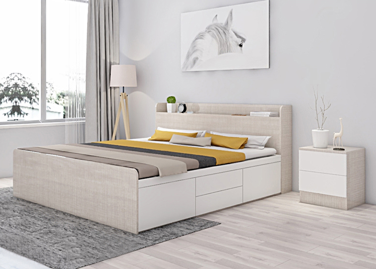 Đây cũng là xu hướng trang trí phòng ngủ đơn giản mà đẹp