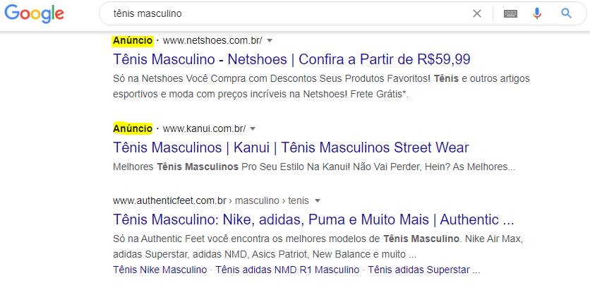 google ads rede de pesquisa