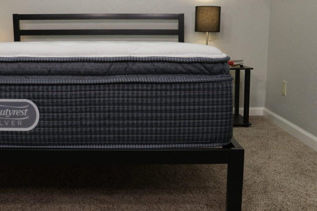 beautyrest silver mattress construction