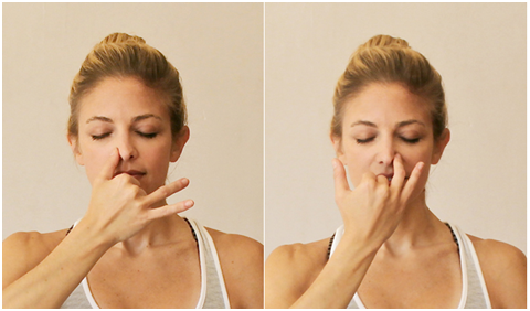 Alternate breathing technique, Anulom Vilom Pranayama