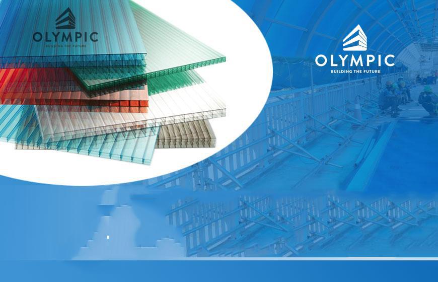 Chọn mua tấm lợp lấy sáng Olympic cho sân vận động