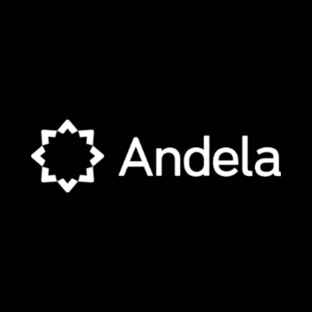 Andela's logo.