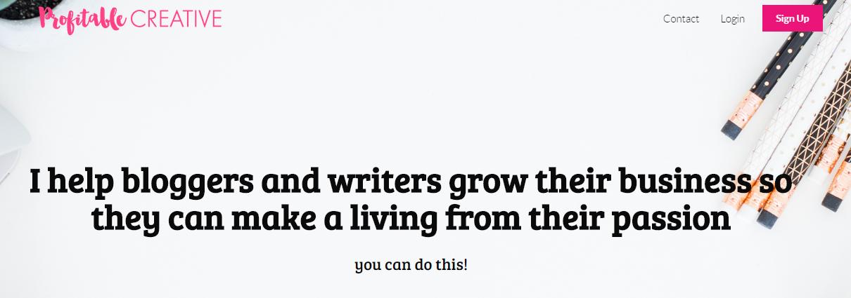 profitable creative helps bloggers