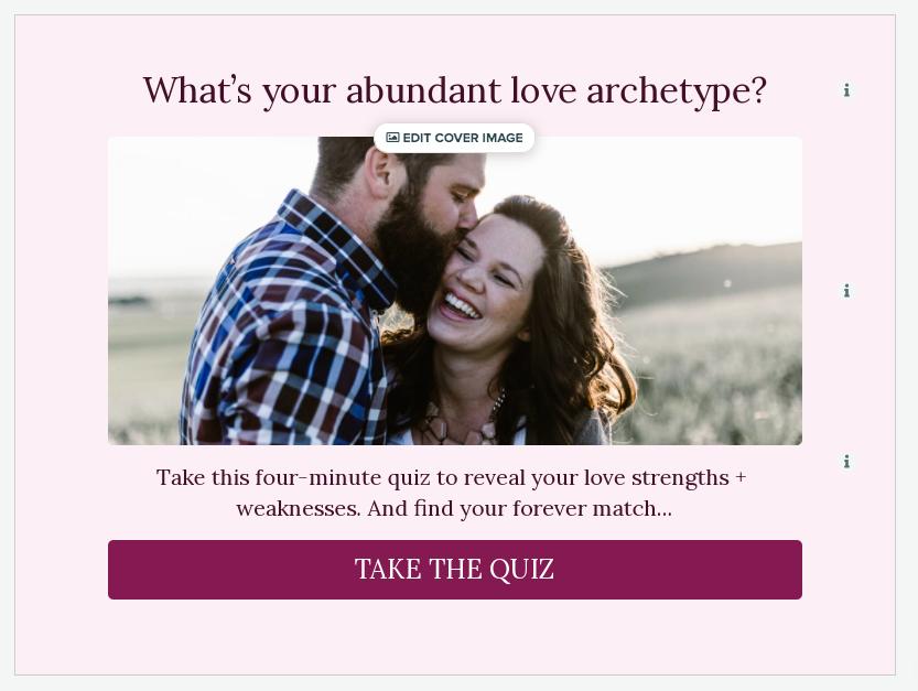 love archetype quiz cover