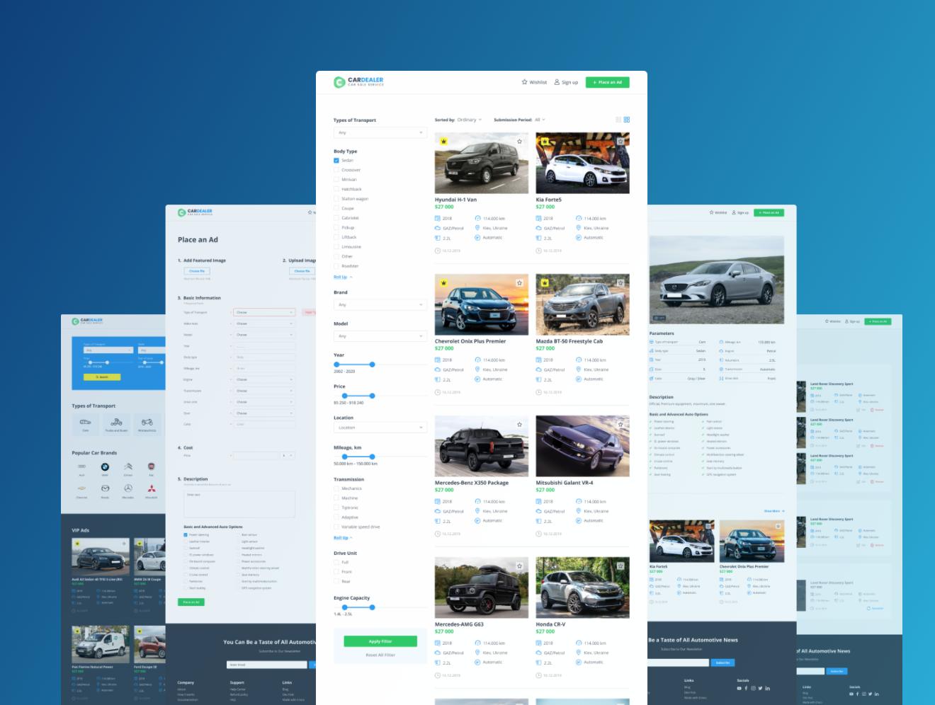 Start a car dealership