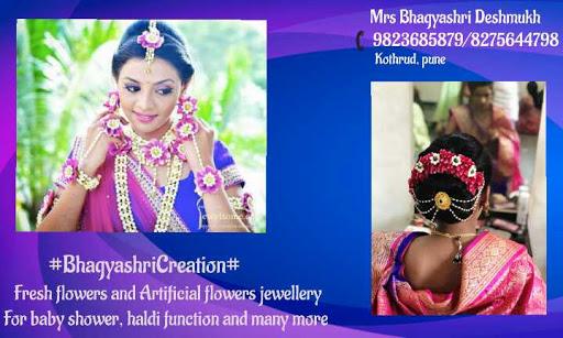 Flowers Jewellery Bhagyashri Creation Flower Designer In Pune