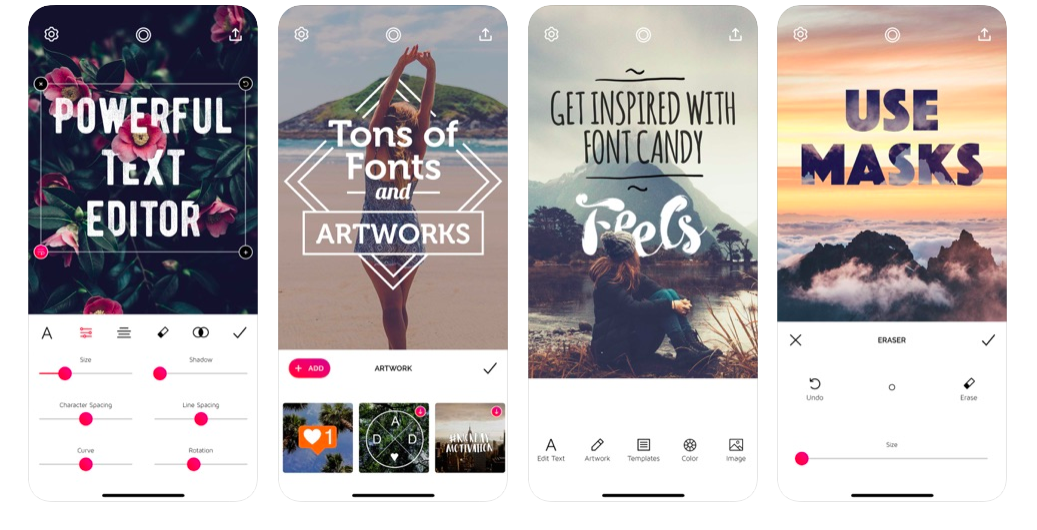 fonts for Instagram content