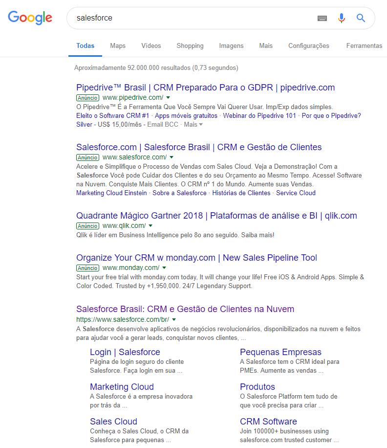 Campanha de Marca - Salesforce