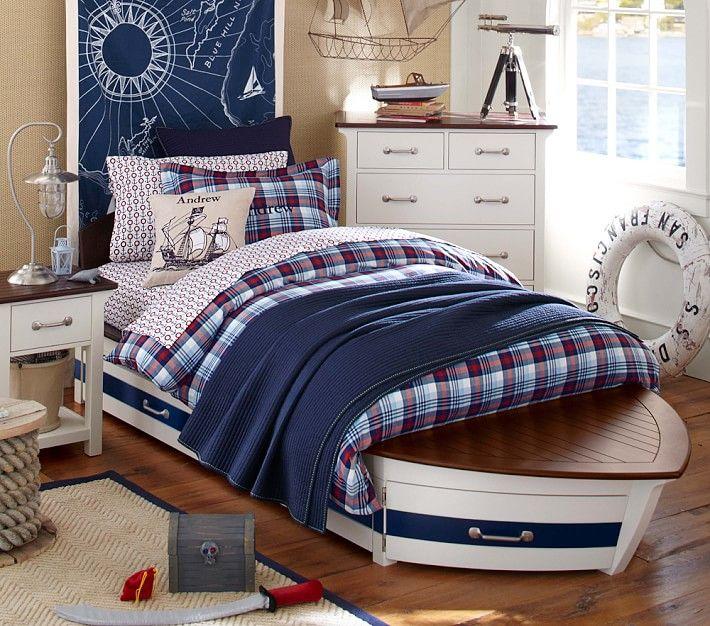 Incredible Dream Bedroom with Speedboat Bed