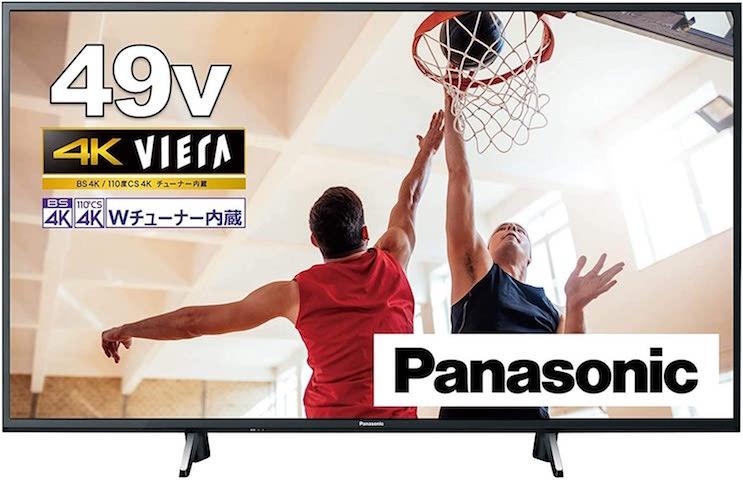 パナソニック 49V型 テレビ VIERA