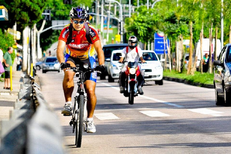 Segundo dados do Ipea, no Brasil existem cerca de 41 milhões de bicicletas. (Icetran/Reprodução)
