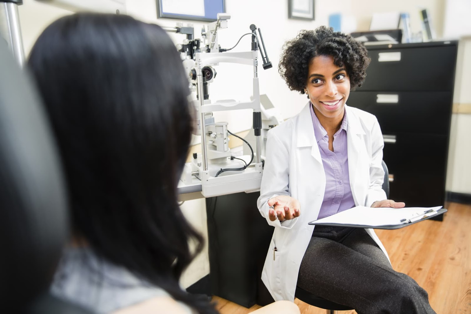 Image result for optometrist + consultation