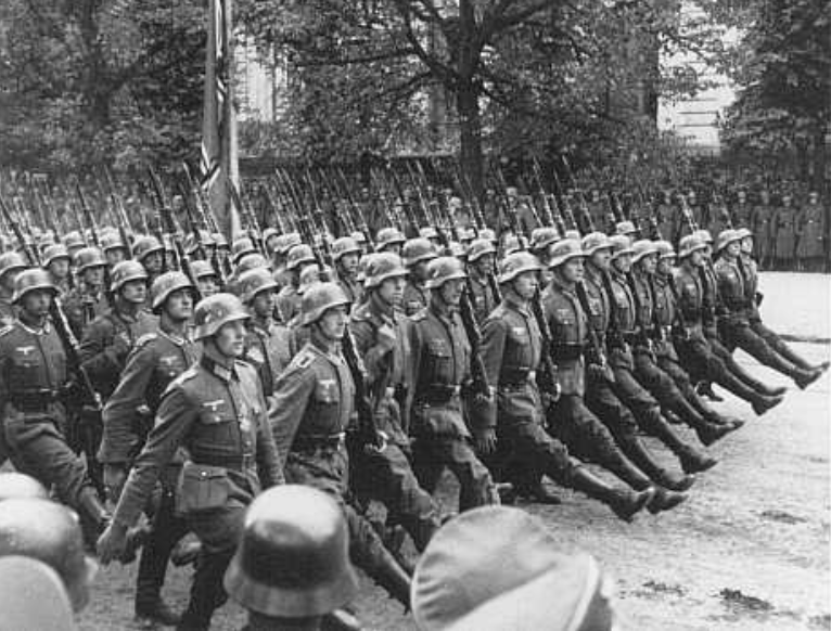 Nazi foot soldiers retrieved from: https://encyclopedia.ushmm.org/content/en/photo/german-troops-parade-through-warsaw