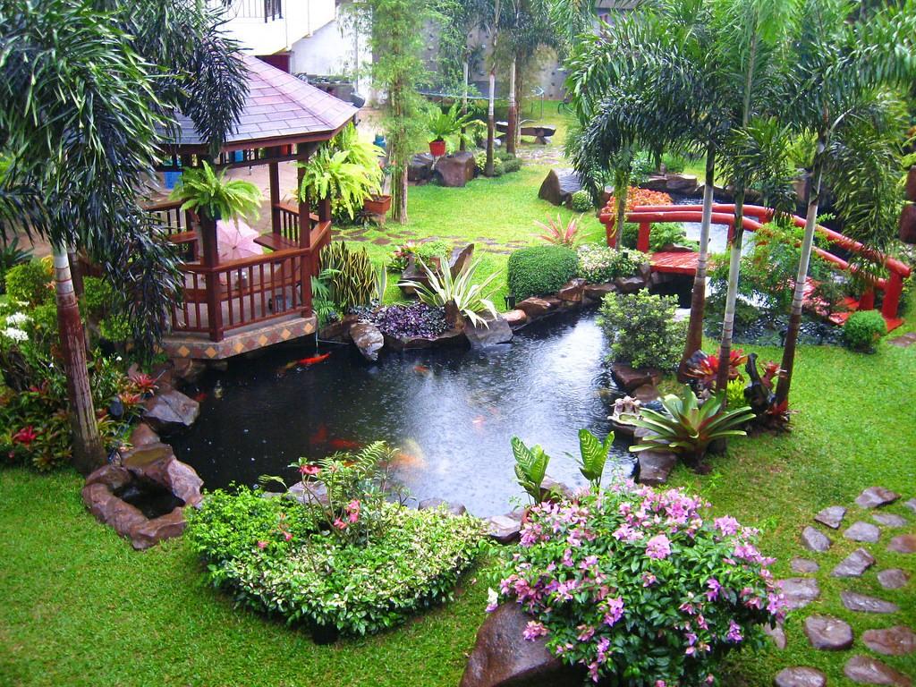 Mẫu tiểu cảnh sân vườn ấn tượng, đẹp mắt