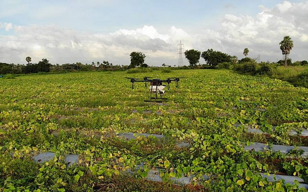 Indian drone for agriculture