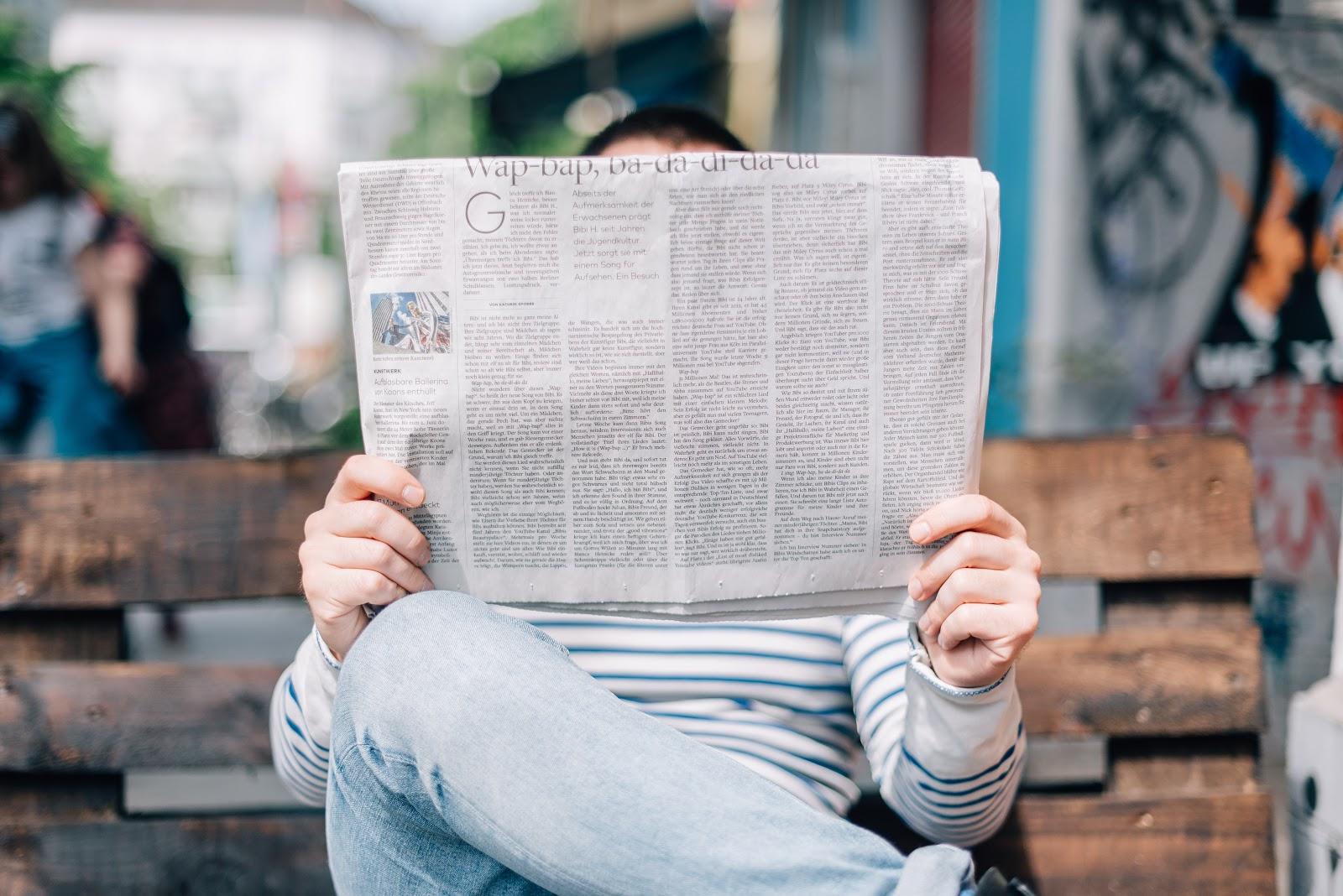estudiar inglés leyendo la prensa