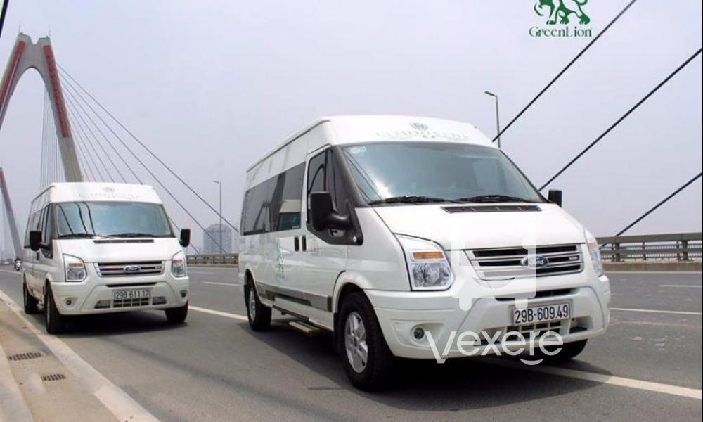 Xe limousine đi Sapa từ Hà Nội: Green Lion Bus