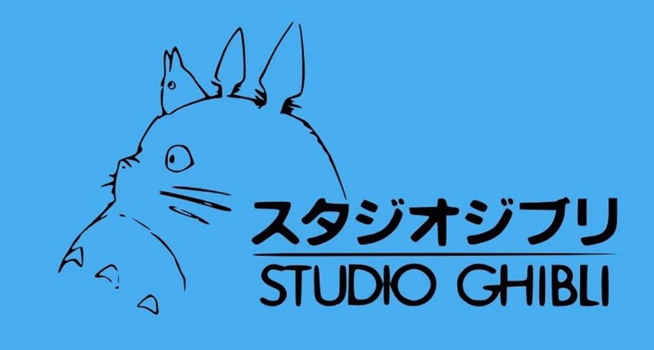 Studio Ghibli logo (with Totoro)