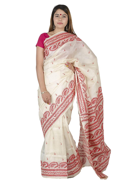 Tribes India Women's Bhagalpuri Sarees