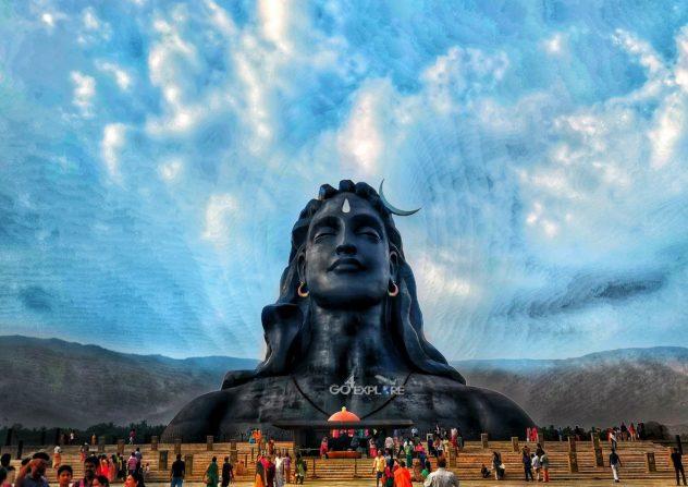 Adiyogi Big Shiva Statue - Solo Travel in india