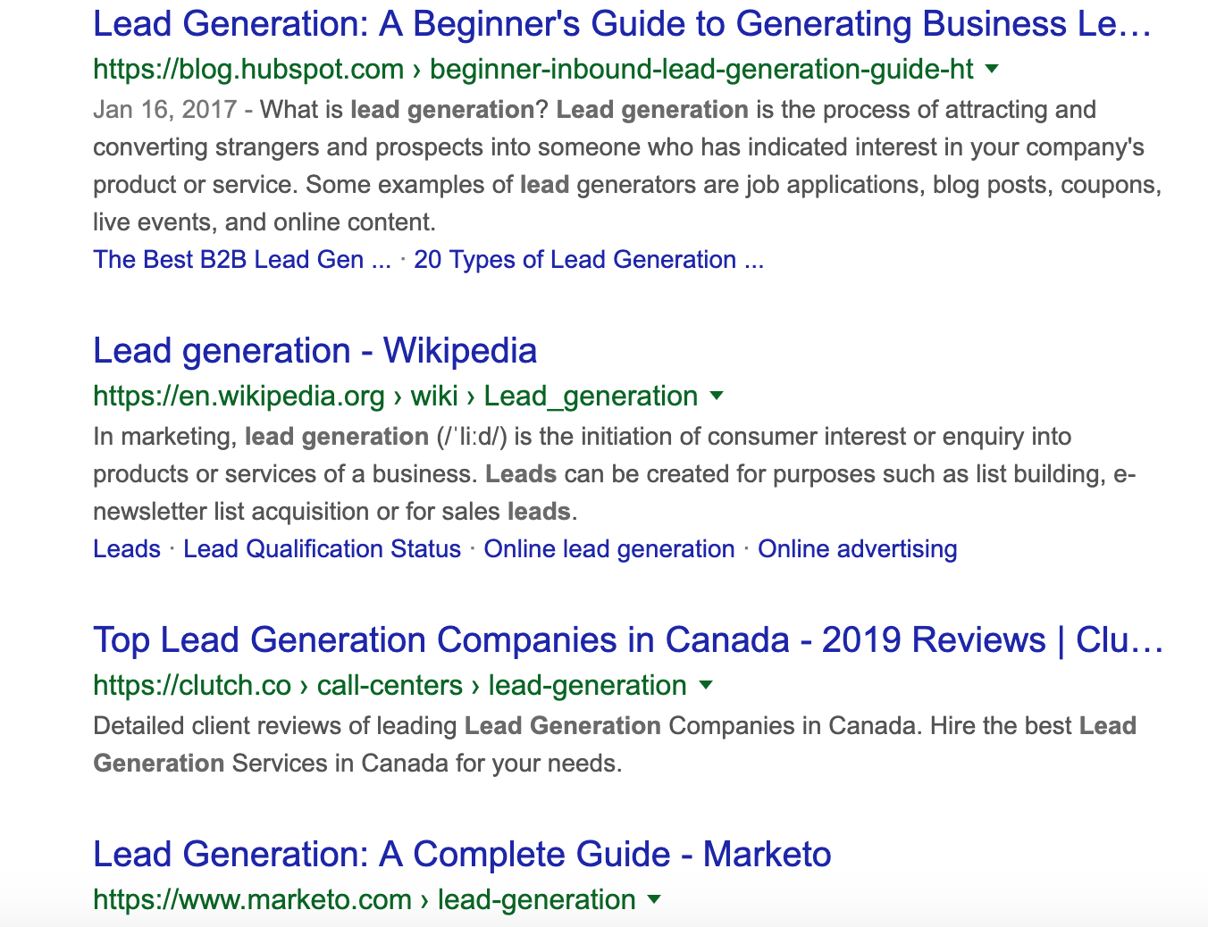 Lead Generation and Marketing Channels to Focus on - Organic search