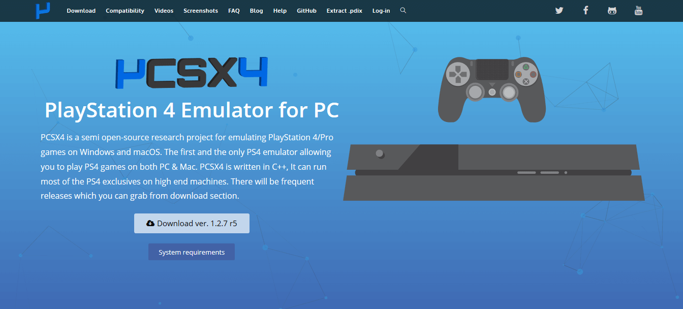 best ps4 emulator for pc