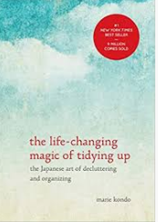 Recommended Book- The life changing magic of tidying up by Marie Kondo, the cover art