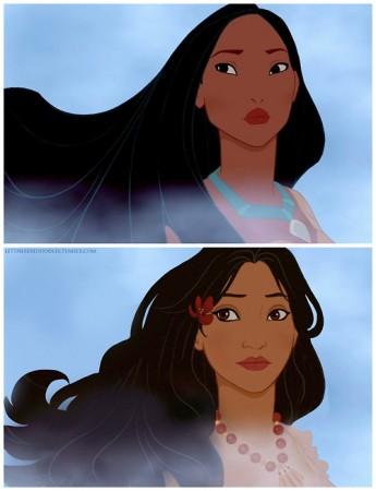 """Chùm Ảnh """"Bạch Tuyết của Disney phiên bản da màu"""" - H4"""