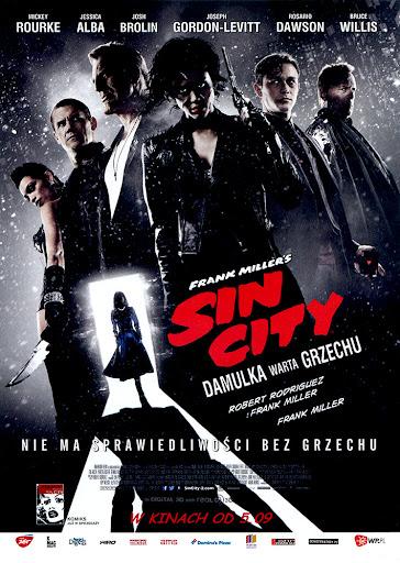 Przód ulotki filmu 'Sin City 2: Damulka Warta Grzechu'