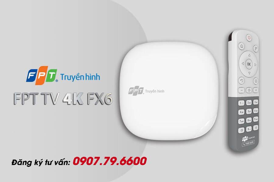 FPT Truyền Hình FPT - Bộ giải mã FPT TV 4K FX6