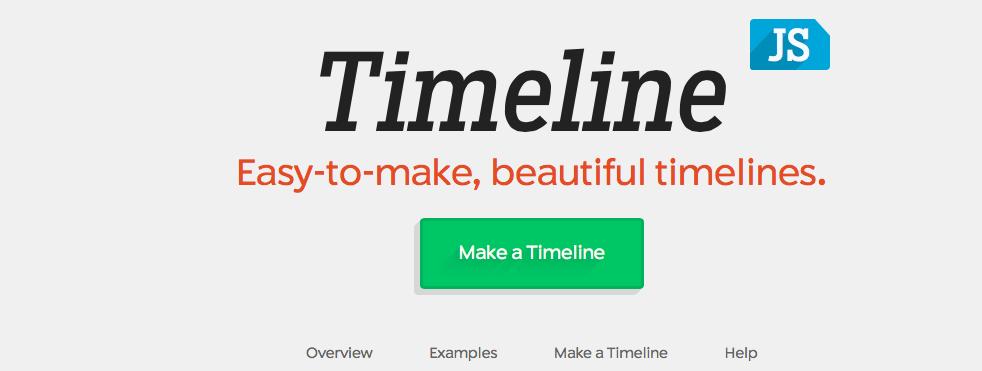 Exploring TimelineJS! – Farah's Blog
