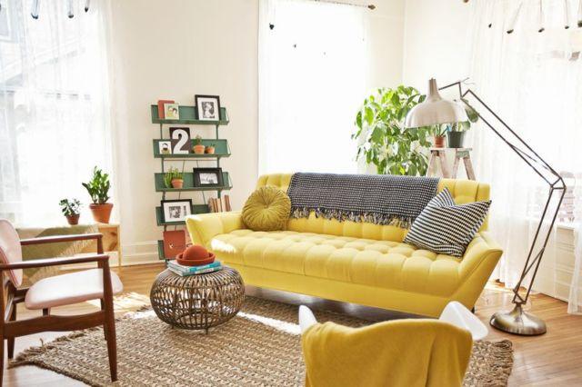 10 ý tưởng ghế sofa phòng khách cho căn phòng nhỏ