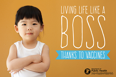 Thanks to vaccines