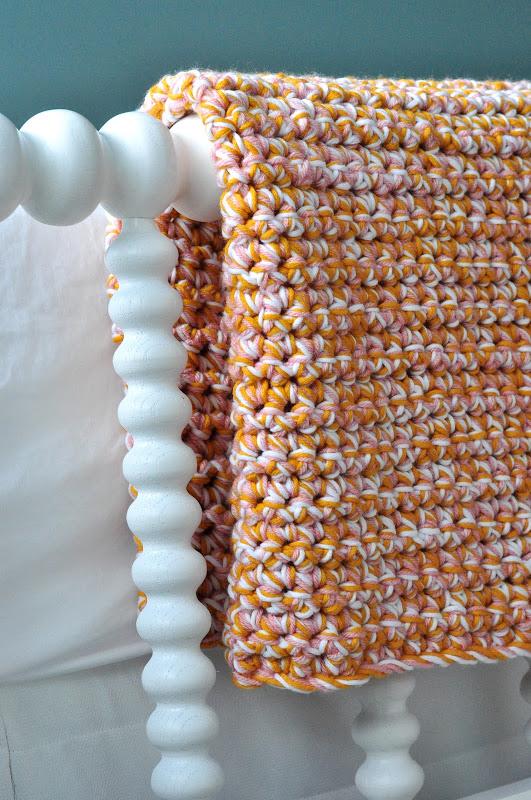 easy baby afghan crochet blanket pattern