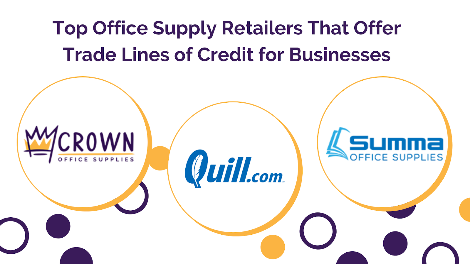 Net 30 Office Supply Retailers