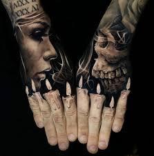 Skull Tattoo Designs For Boys
