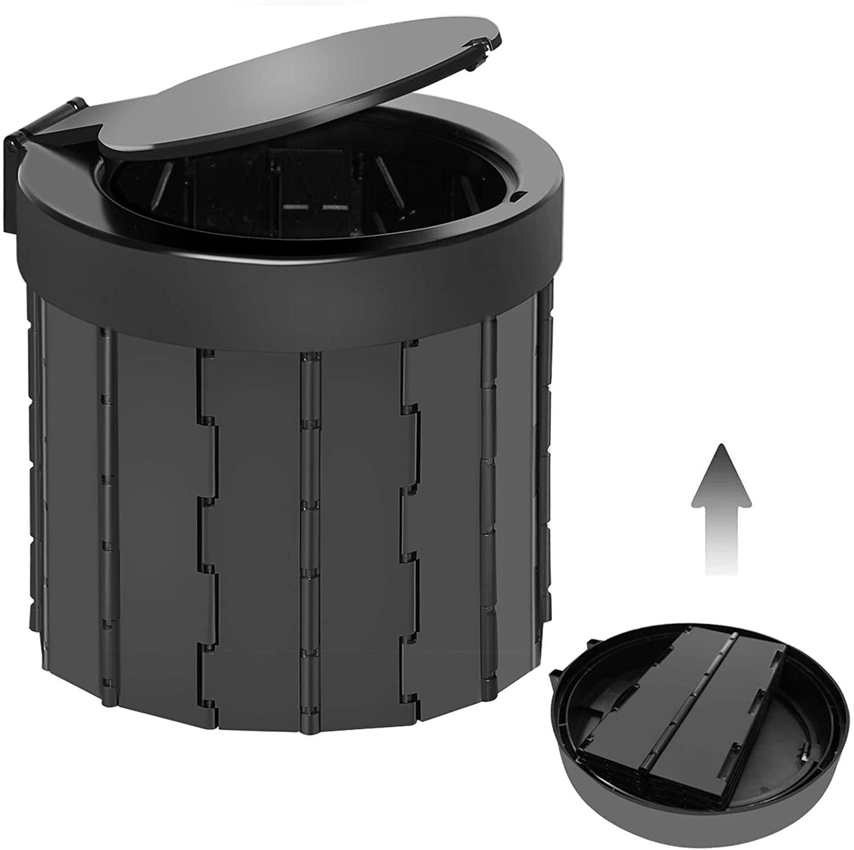 triptips portable folding toilet for camping