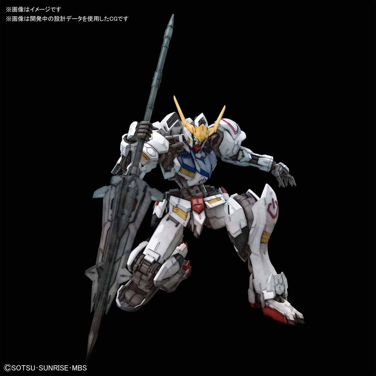 日本萬代模型玩具公司BANDAI SPIRITS 推出《機動戰士鋼彈 鐵血孤兒》的人氣主角機 ASW-G-08 獵魔鋼彈 MG 1/100 比例組裝模型!