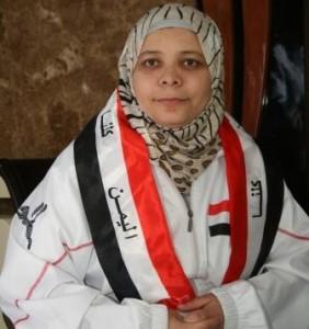 نظمية عبدالسلام نائب رئيس اللجنة الاولمبية