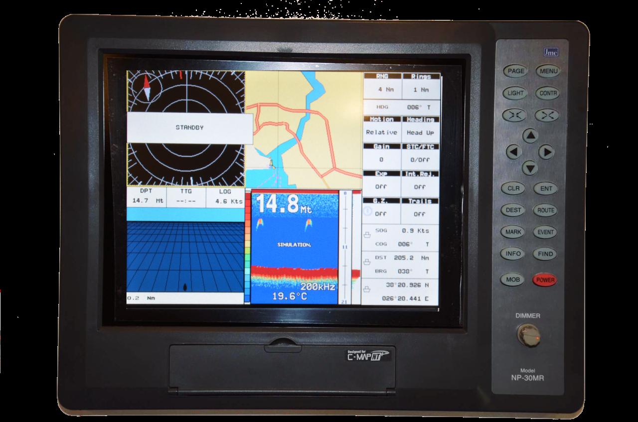 JMC NP-30MR định vị GPS với 12 kênh khác nhau