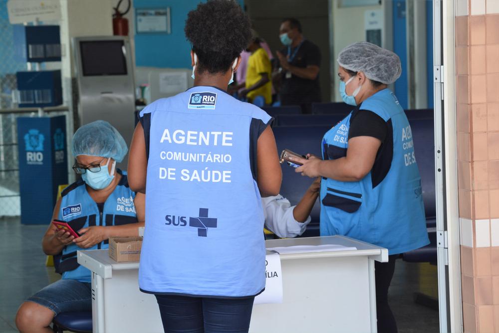 A estratégia de territorialização da atenção primária permite ao Brasil uma boa gestão de doenças crônicas. (Fonte: Jorge Hely Veiga/Shutterstock)