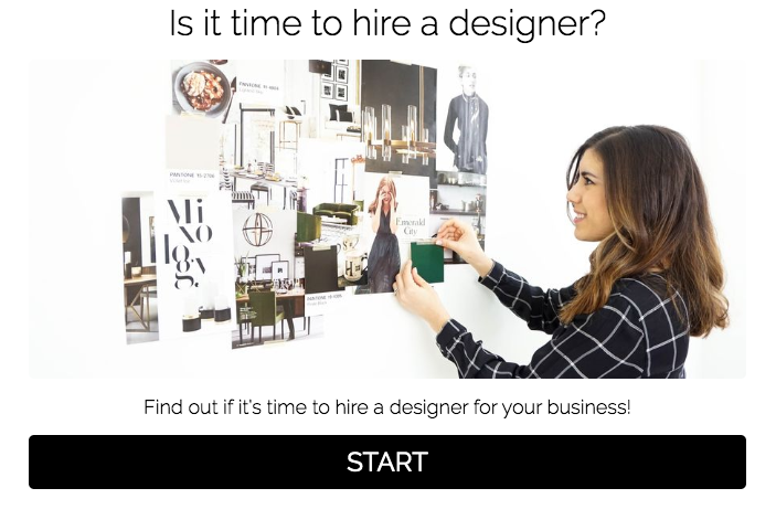is it time to hire a designer quiz cover