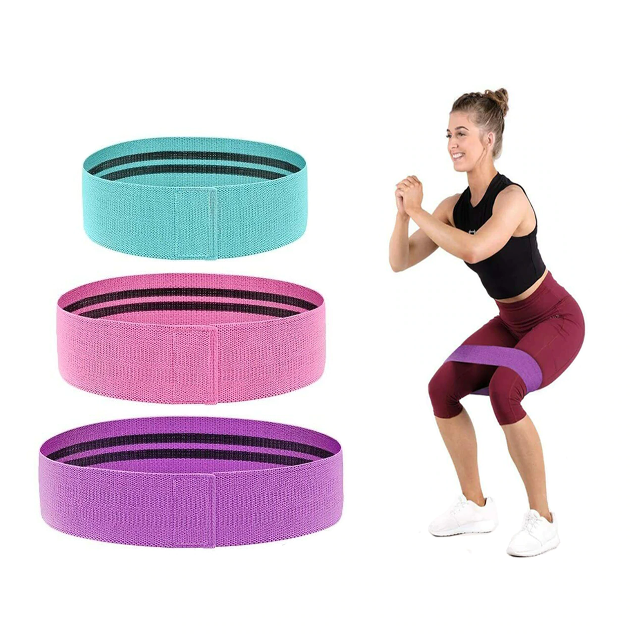 3 Booty Resistance Bands