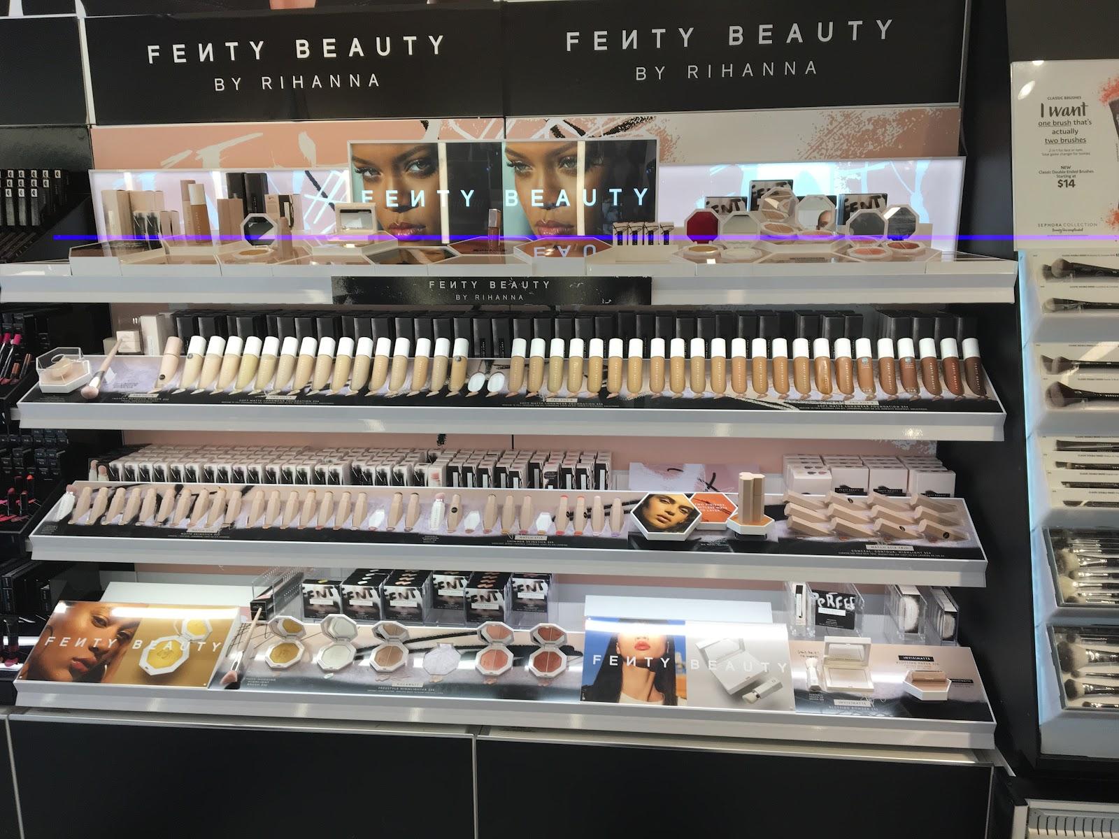 Rihanna S New Fenty Beauty Makeup Line Her Campus