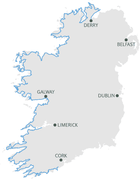 Wild Atlantic Way Map
