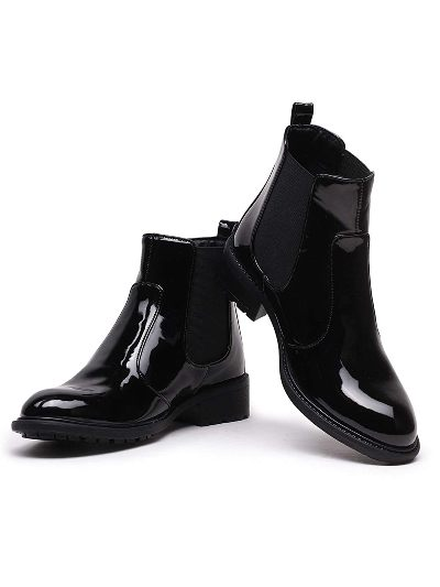Bruno Manetti Mid Ankle Length Slip On Best Chelsea Boots For Women