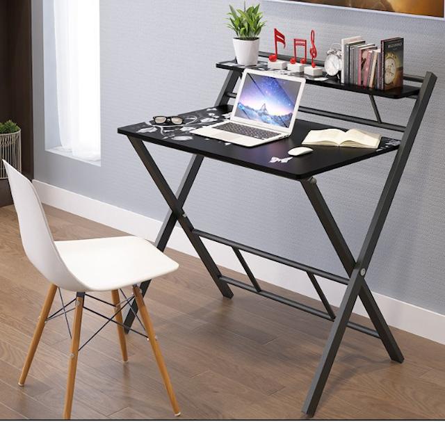 Các bạn nên chọn mua bàn làm việc gấp thông minh có màu sắc tối giản và được làm từ chất liệu tốt
